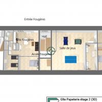 Capture d ecran plan papeterie etage 2 3d