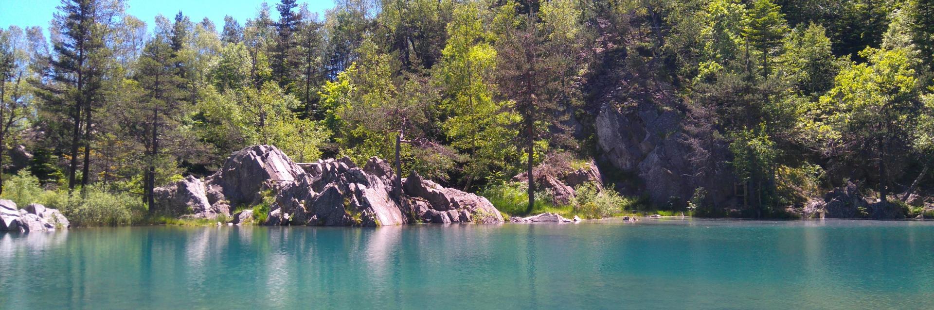 La lauzière du lac bleu